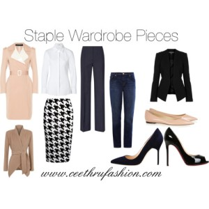 Staple Wardrobe Pieces