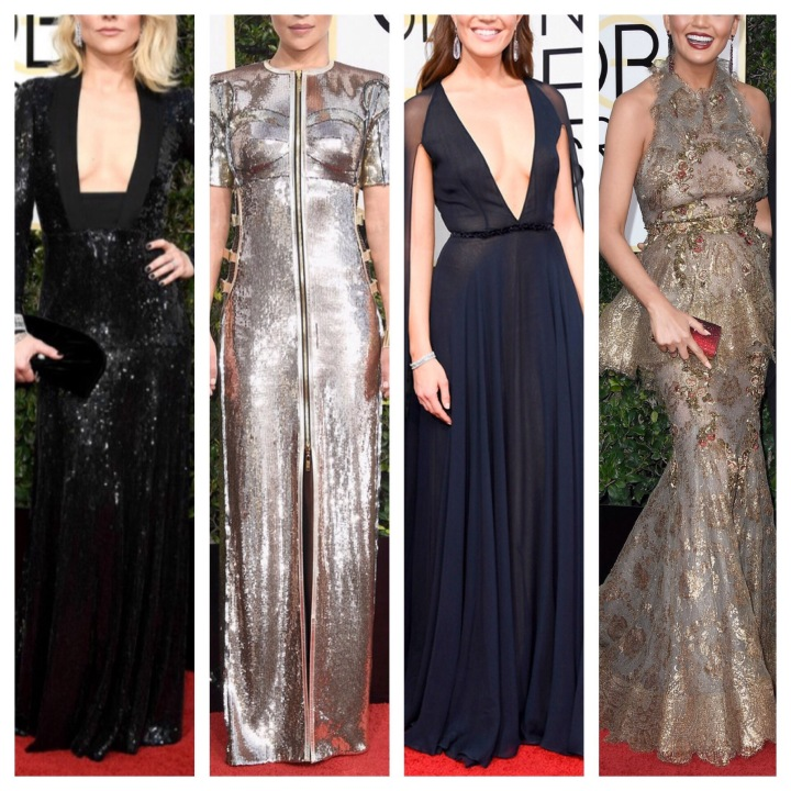 Red Carpet Round-Up | Top Five Gowns at the 2017 Golden Globes