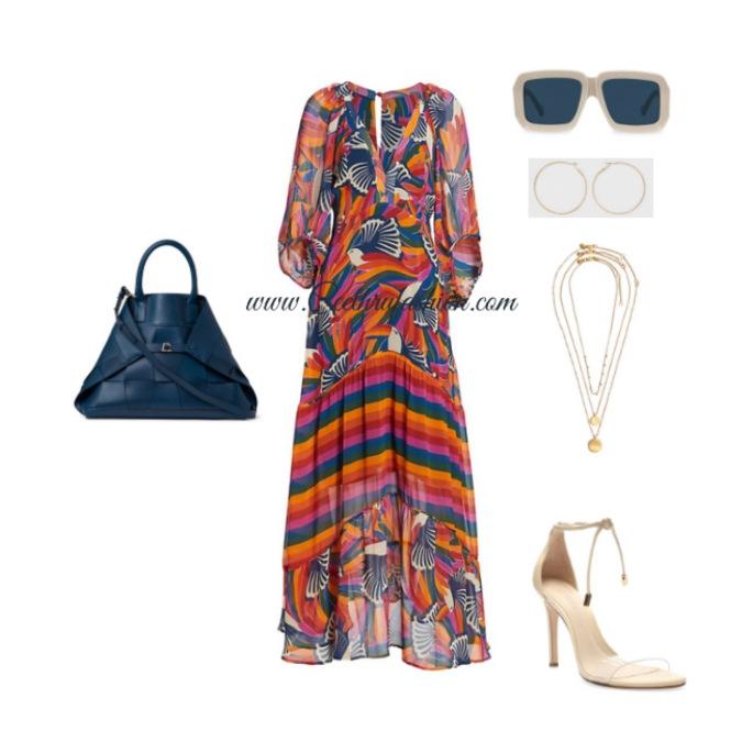 #maxidress #farmrio #schutz #akris #madewell #target #goldhoops #hoopearrings #lupus #budgetfriendly #highlowfashion #springfashion #ootd #outfit #loewe
