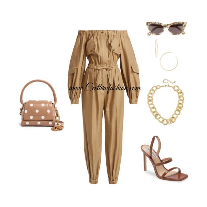 #onepiece, #jumpsuit, #romper, #lelesadoughi, #hoopearrings, #jonathansimkhai, #target, #madewell, #maxmara, #canvasjewelry, #houseofwant, #stevemadden, #designer, #fashion, #highlowfashion, #budgetfriendly, #lupus, #chainlink #statementjewelry