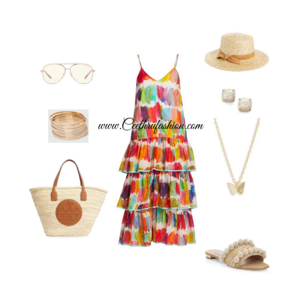 #springdresses #layereddress #toryburch #rhode #michaelkors #aquazzura #slides #strawhat #strawtote #woventote #target #lupus #budgetfriendly #highlowfashion #springfashion #ootd #outfit #katespade #argentovivo #Raffia #sandiegohats