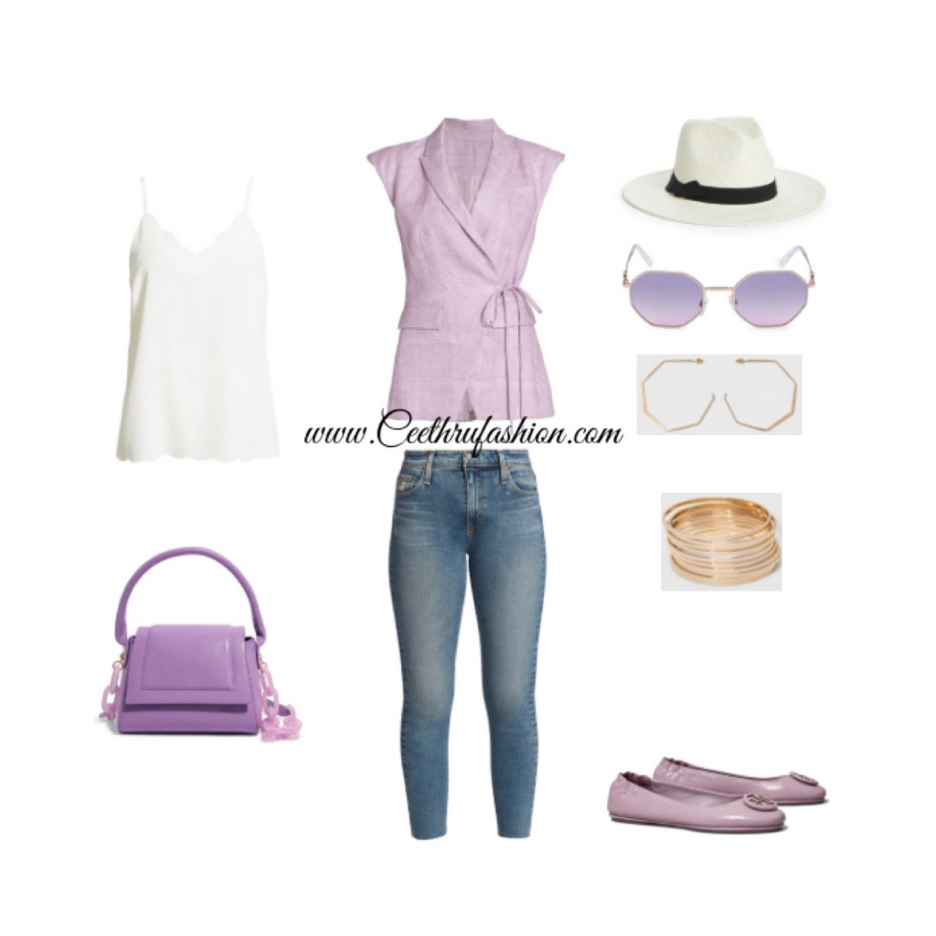 #wearpurple #purple #lupus #lupusawareness #lupusawarenessmonth   #springfashion #streetstyle #springstyle #springoutfit #ootd #outfitoftheday #springlook #toryburch #veronicabeard #houseofwant #valantinogaravani #target #halogen #nordstrom #panamahat #agjeans #blackfashionblogger #brownfashionblogger #budgetfriendly #streetstyle