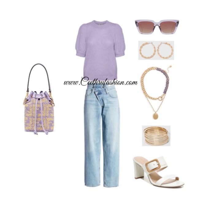#wearpurple #purple #lupus #lupusawareness #lupusawarenessmonth   #springfashion #streetstyle #springstyle #springoutfit #ootd #outfitoftheday #springlook #fendi #agolde #openedit #veronicabeard #target #nordstrom #raen #awarebyveromoda  #veromoda #bangles #blackfashionblogger #brownfashionblogger #budgetfriendly #highlowfashion
