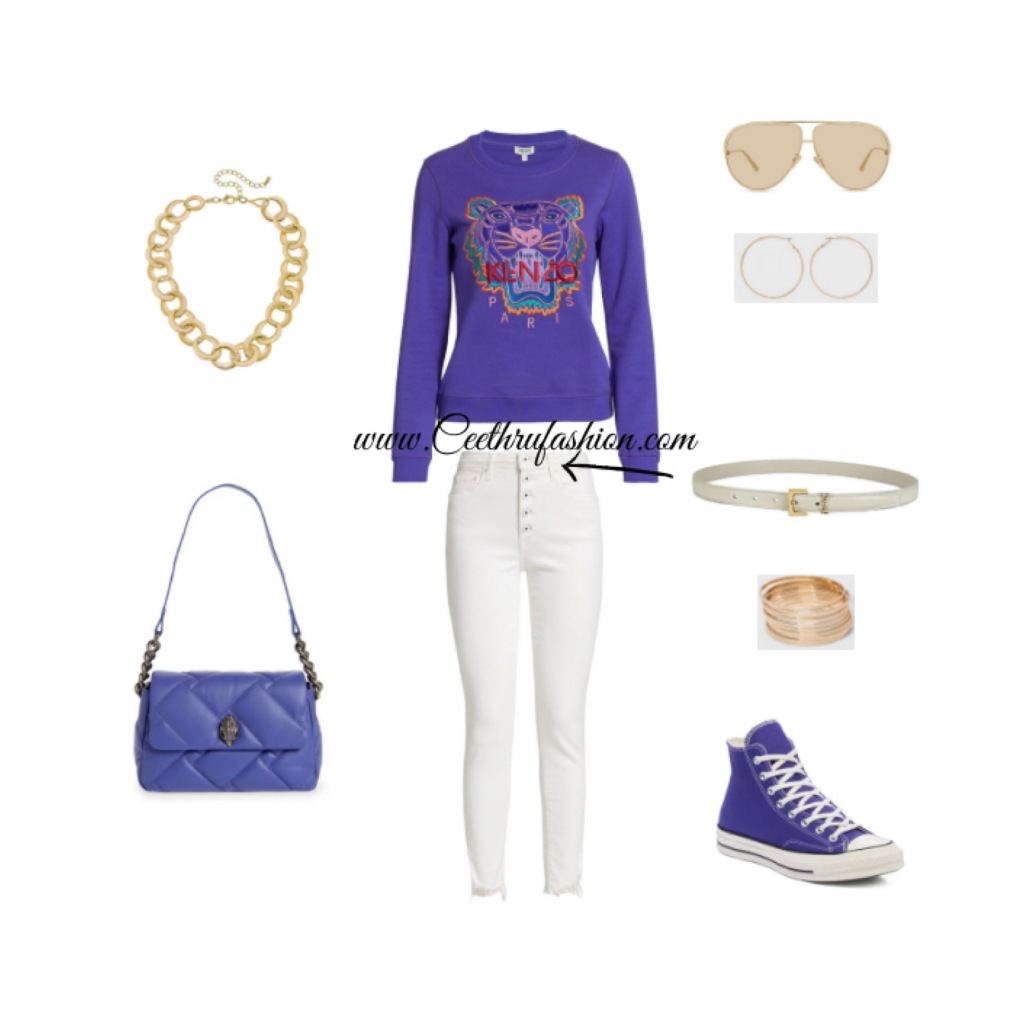 #wearpurple #purple #lupus #lupusawareness #lupusawarenessmonth   #springfashion #streetstyle #springstyle #springoutfit #ootd #outfitoftheday #springlook #kenzo #canvasjewelry #saintlaurent #ysl #dior #christiandior #quilted #jonathansimkhai #jonathansimkhaistandard #converse #kurtgeigerlondon #target #aviator #blackfashionblogger #brownfashionblogger #budgetfriendly #highlowfashion #chainlinknecklace