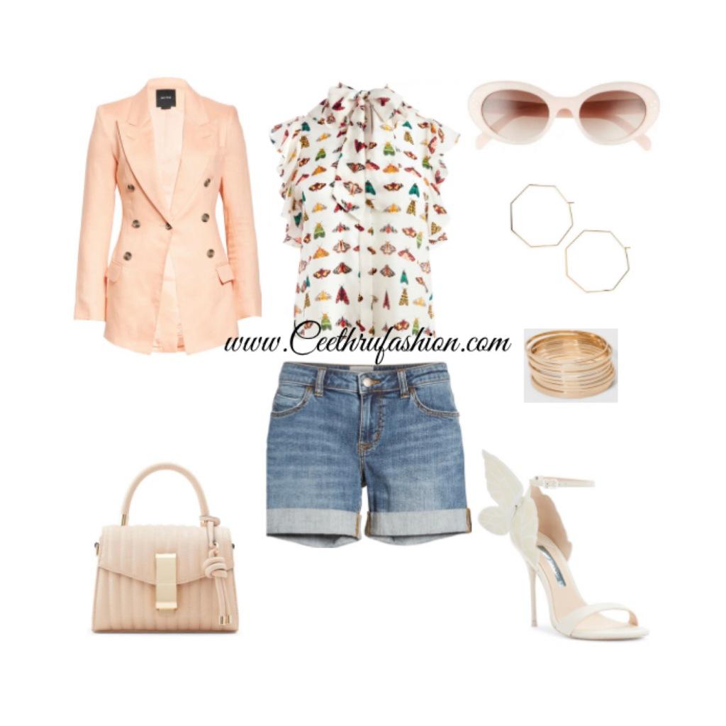 #summer #summerfashion #summerstyle #orlandofashionbloggers #brownfashionbloggers #floridafashionbloggers #fashion #lupus #jw #style #highlowfashion #statementjewelry #floridafashionbloggers #outfits #orlandoflorida #readytowear #virtualstyling #streetstyle #summeroutfit #sunglasses #budget #ootd #liketk.it #statementearrings #hotgirlsummer #boyfriendshorts #blazers #butterflies #summer2021 #blackfashionbloggers #smythebrand #aliceandolivia #nordstrom #celine #aldo_shoes #sophiawebster #panaceajewelry #target