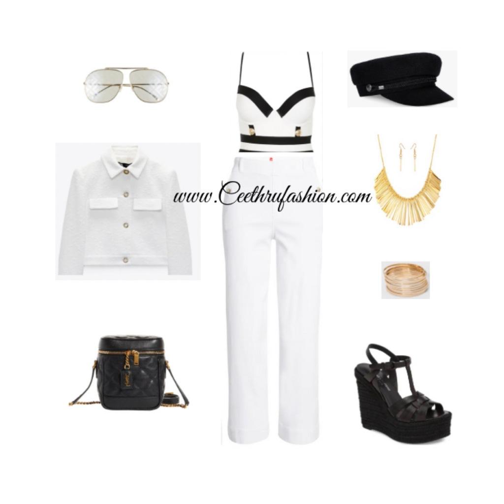 #summer #summerfashion #summerstyle #orlandofashionbloggers #brownfashionbloggers #floridafashionbloggers #fashion #lupus #jw #style #highlowfashion #statementjewelry #floridafashionbloggers #outfits #orlandoflorida #readytowear #virtualstyling #streetstyle #summeroutfit #springseason #budget #ootd #liketk.it #beachwear #beachlook #summerlook #swimwear #beachfashion #sailorinspired #blackfashionbloggers #riverisland #spanx #ysl #saintlaurent #fendi #zara #amazonfashion #croppedjacket