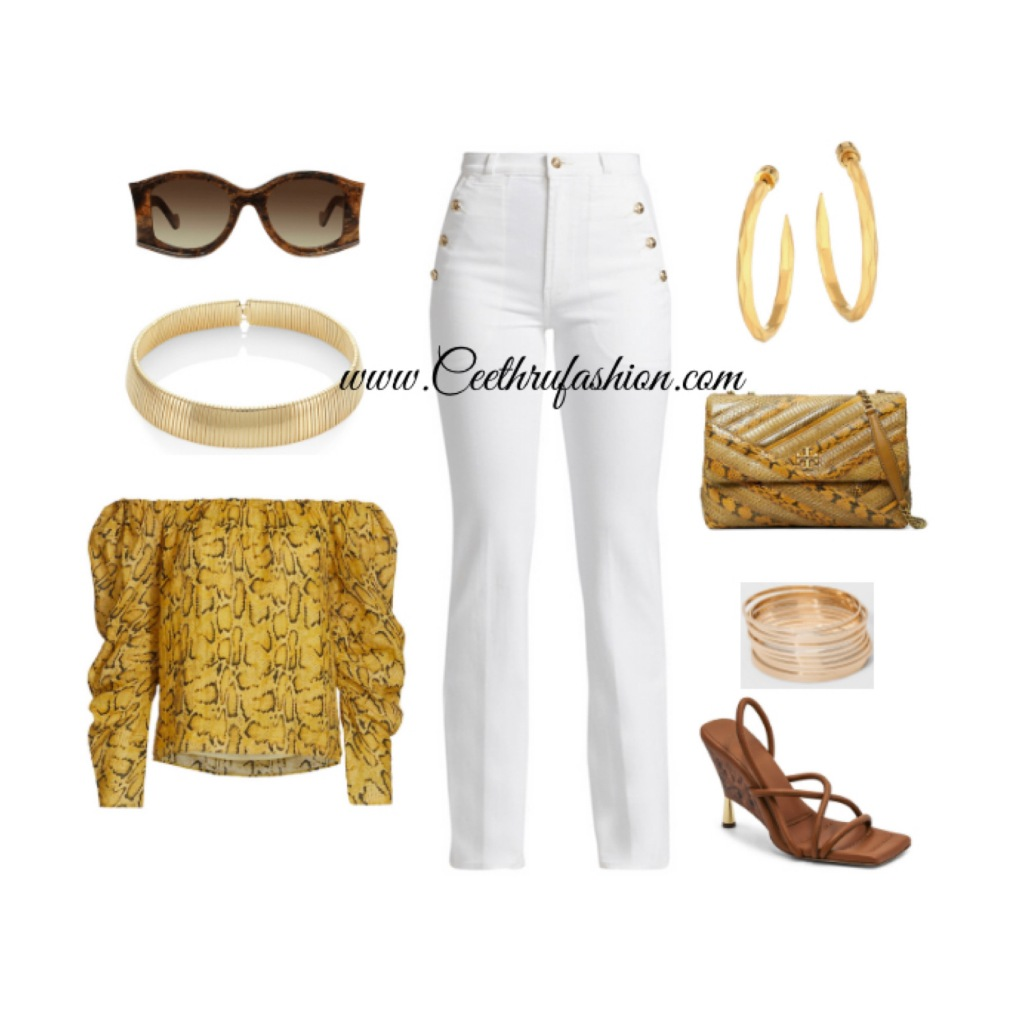 #summer #summerfashion #summerstyle #orlandofashionbloggers #brownfashionbloggers #floridafashionbloggers #fashion #lupus #jw #style #highlowfashion #statementjewelry #floridafashionbloggers #outfits #orlandoflorida #readytowear #virtualstyling #streetstyle #summeroutfit #springseason #budget #ootd #liketk.it #offtheshoulder #hotgirlsummer #summerlook #snakeprint #streetwear #summer2021 #blackfashionbloggers #frame #7forallmankind #giaborghini #toryburch #deandavidson #loewe #kennethjaylane #saks #saksfifthavenue #target #snakeprint #python