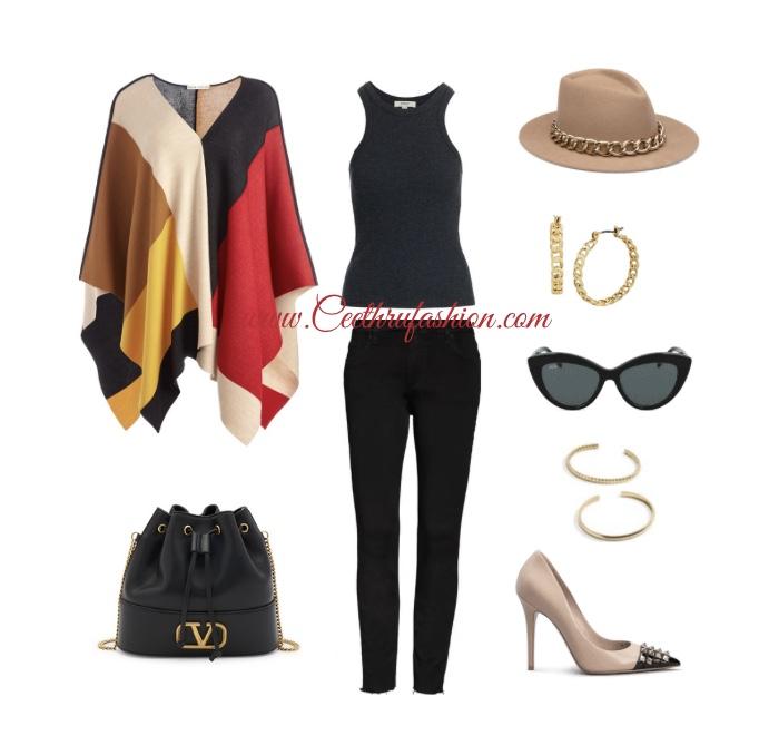 #fall #fallfashion #plussizefashion  #fallinspiration #orlandofashionblogger #blackfashionblogger #floridafashionblogger #fashion #lupus #jw #style #highlowfashion #pumps #floridafashionbloggers #outfits #orlandoflorida #readytowear #virtualstyling #streetstyle #streetwear #fallaccessories #budget #ootd #liketk.it #colorblock #poncho #hatseason #fallstyle #aliceandolivia #agolde #valentino #eugeniakim #mcm #kutfromthekloth