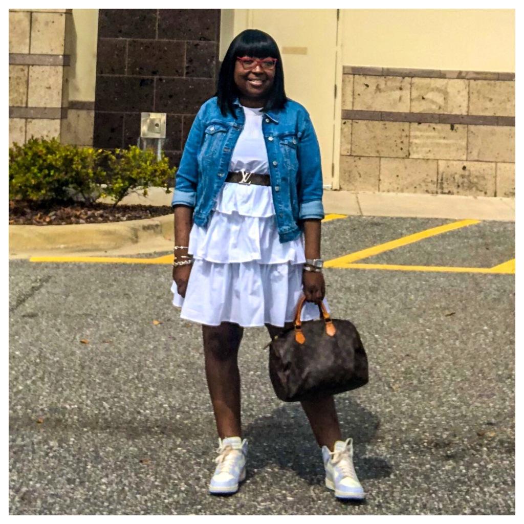 #floridafall #budgetfriendly #orlandofashionblogger #blackfashionblogger #floridafashionblogger  #lupus #jw #style #highlowfashion  #outfits #orlandoflorida #readytowear #virtualstyling #streetstyle #floridafashion #budget #ootd #liketk.it #fauxleather #booties #whattowear #whowhatwear #target #targetstyle #nike #nikedunkhigh #oldnavy #louisvuitton #fallshoetrend